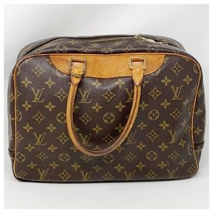 Authentic Louis Vuitton Monogram Deauville Satchel